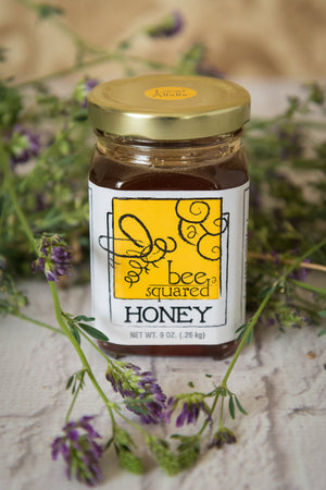 Alfalfa/Wildflower Honey 9oz - Bee Squared