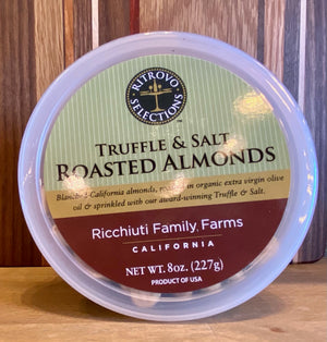 Truffle & Salt Roasted Almonds - Ricchiuti Family Farms