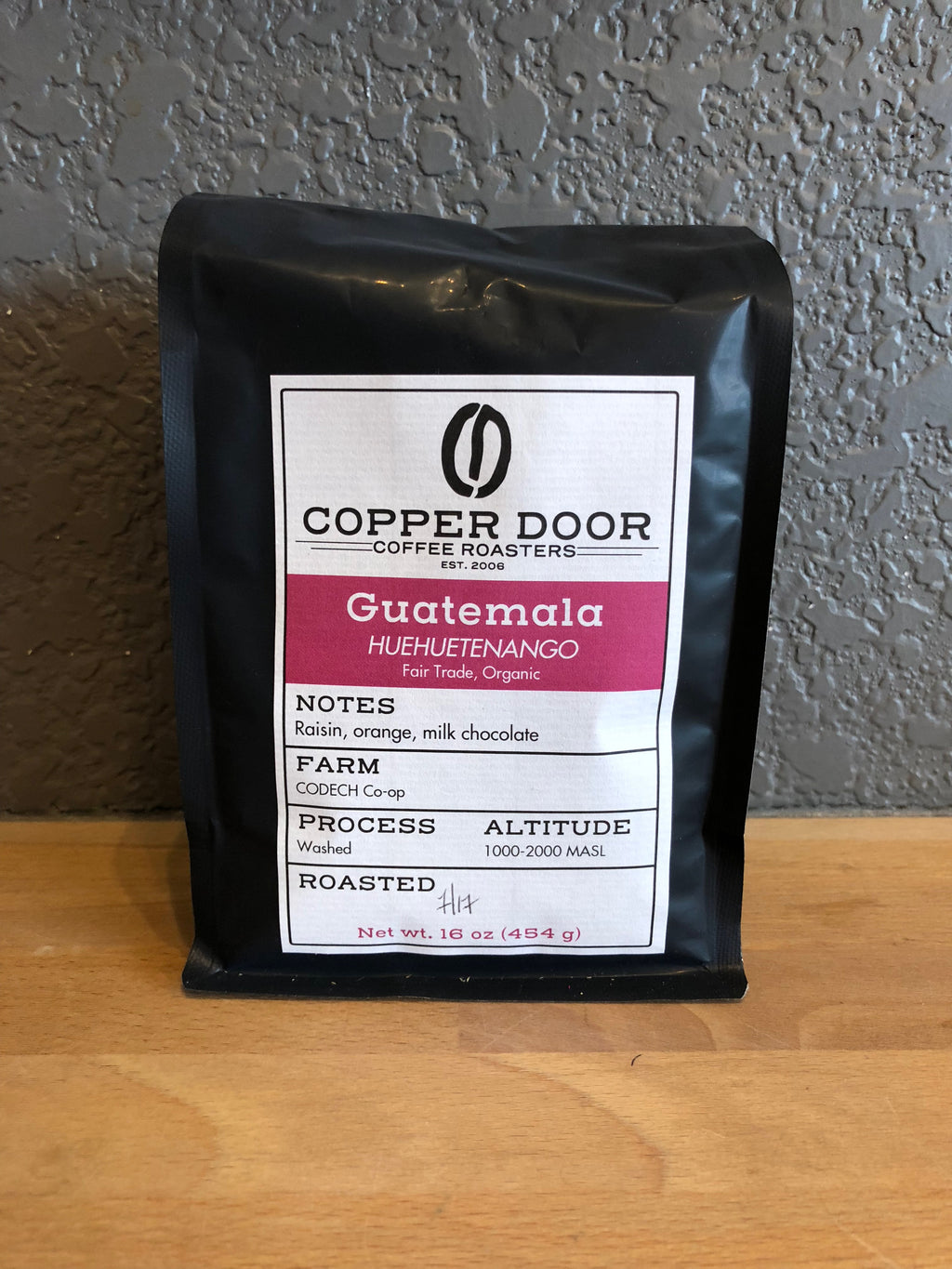 Guatemala Coffee Copper Door Roasters