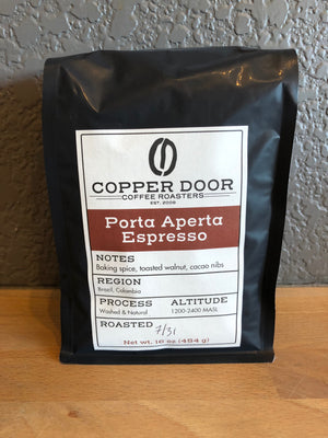 Espresso Coffee Copper Door Roasters