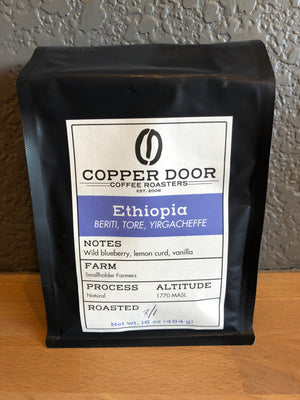 Ethiopia Yirgacheffe Coffee Copper Door Roasters