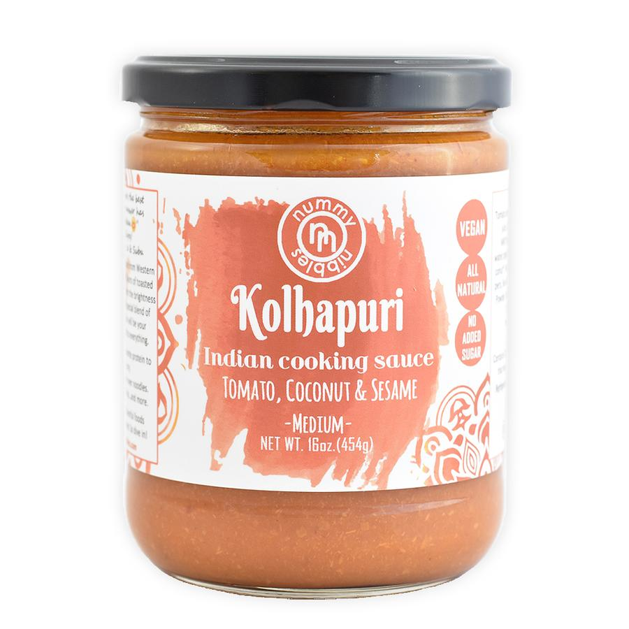Kolhapuri Indian Cooking Sauce Medium - Nummy Nibbles