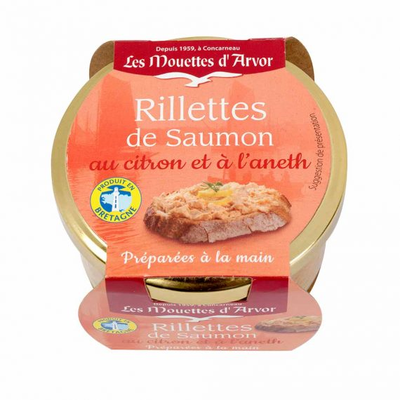 Les Mouettes d'Arvor Salmon Rillettes with lemon & dill