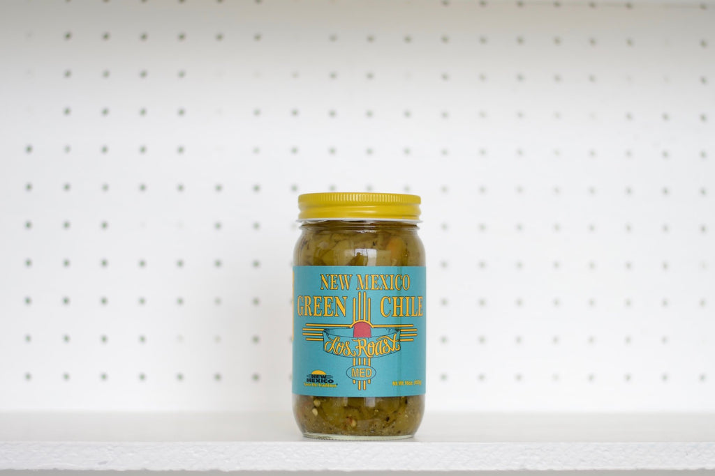 New Mexico Chopped Green Chile Medium - Los Roast