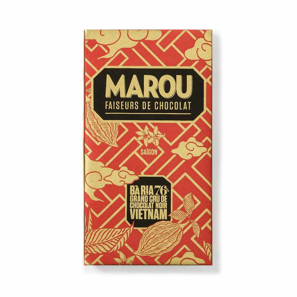 Ba Ria 76% So Co La Den Single Origin Dark Chocolate - Marou