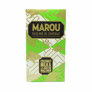 Coconut Milk & 55% Ben Tre Single Origin Vietnamese Chocolate - Marou
