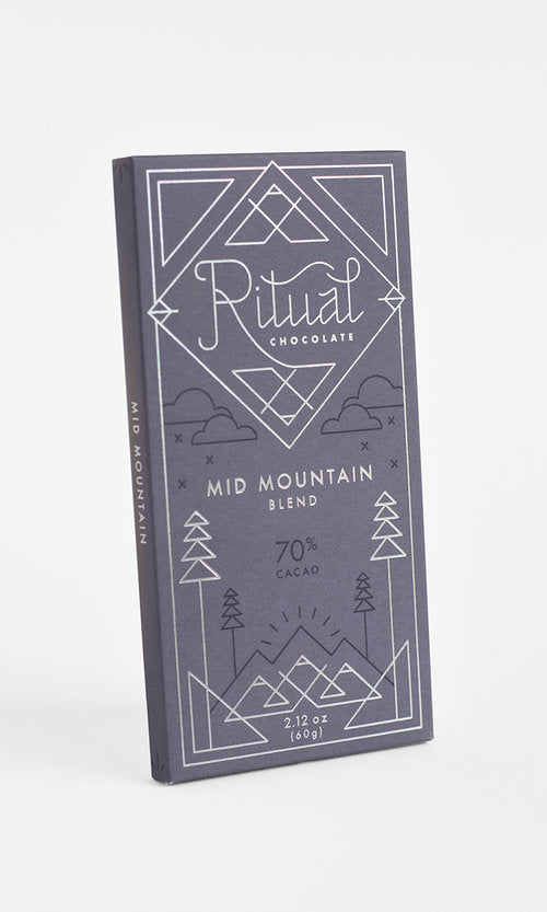 Mid Mountain Blend Ritual Chocolate 70% Cacao