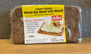 Whole Rye Bread with Muesli - Delba