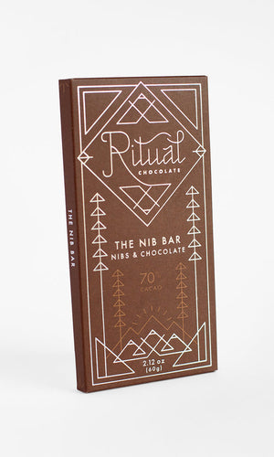 The Nib Bar Ritual Chocolate 70% Cacao