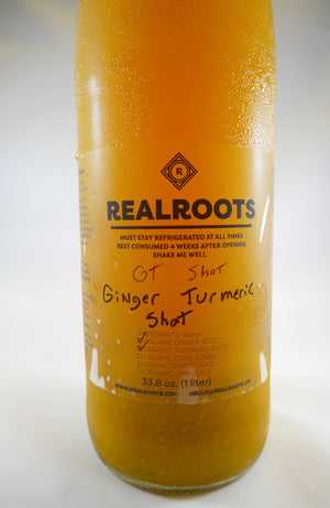 Real Roots Ginger Turmeric Shot