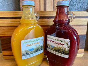 Pear Blossom Farms Fruit Syrup