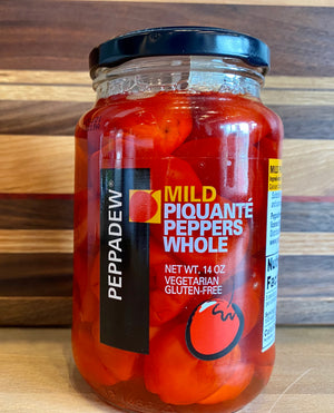 Mild Piquante Peppers Whole - Peppadew