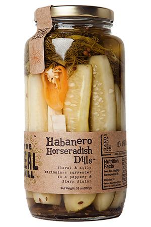 The Real Dill Habanero Horseradish Dill Pickles