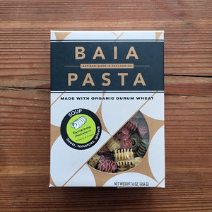 Organic Durum Wheat Soup Dynamos (Radiatori) - Baia Pasta