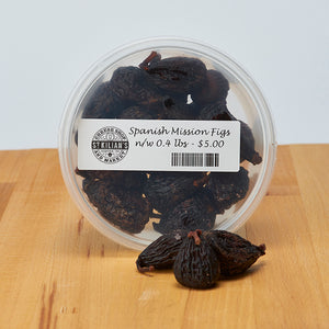 Black Mission Figs - Organic