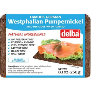 Pumpernickel Bread - Delba