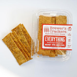 "Brewer's Cracker's ""Everything"" Flatbread"