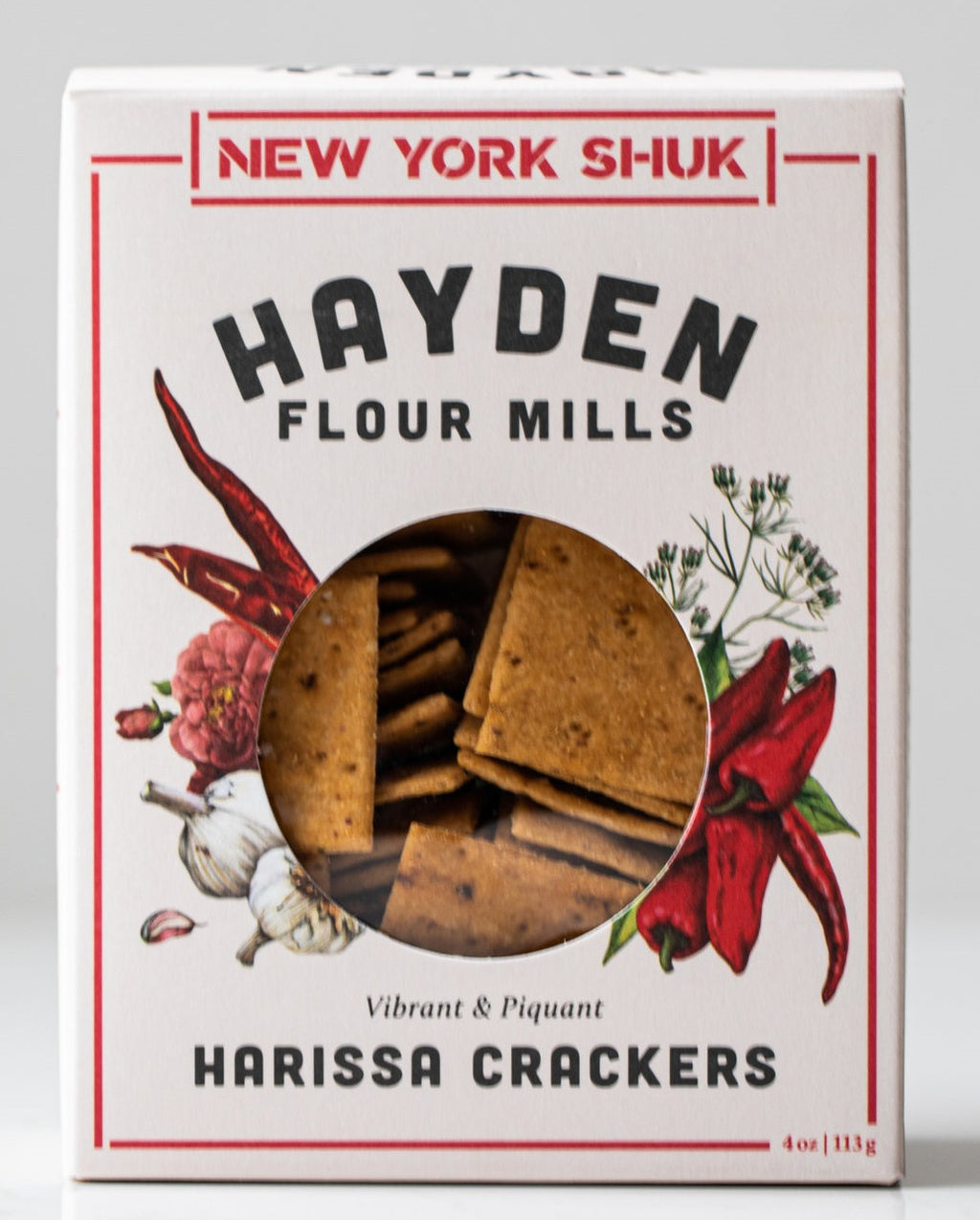 Harissa Crackers - Hayden Flour Mills with New York Shuk