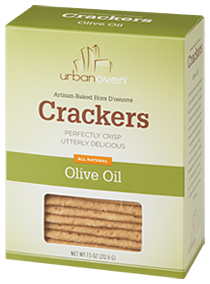 Urban Oven Olive Oil Crackers