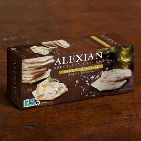 Alexian Olive Oil Crackes