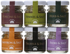 Casina Rossa Gourmet Sea Salt Gift Pack - 6 x 1.1 oz. Jars
