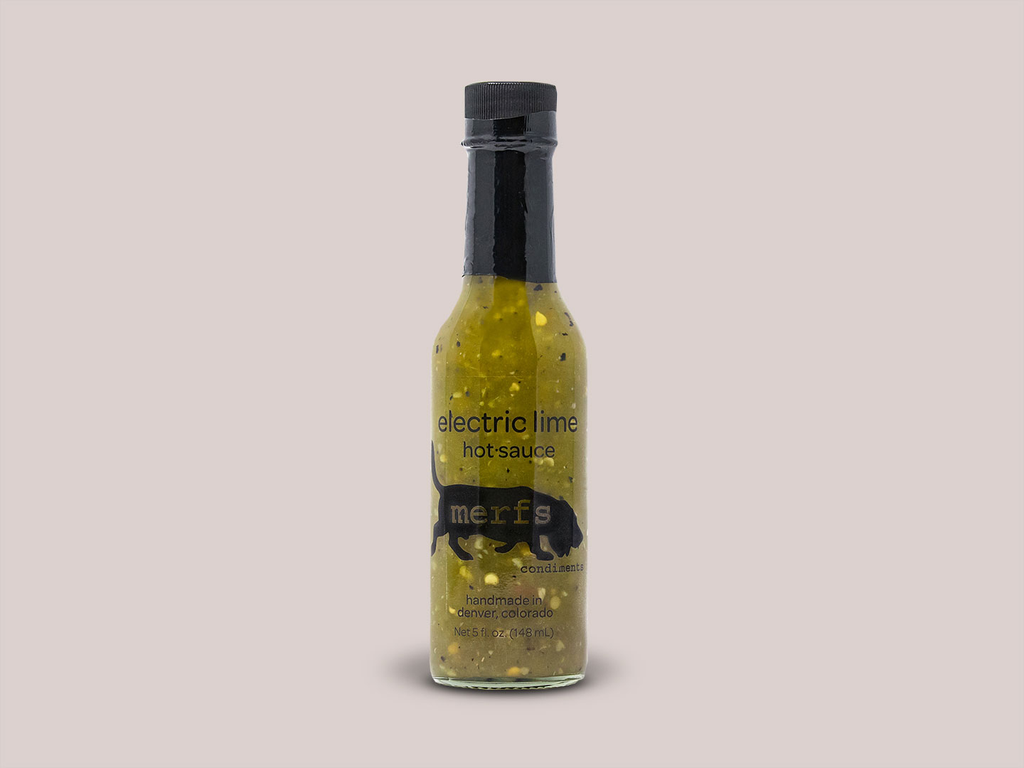Merfs Electric Lime Hot Sauce