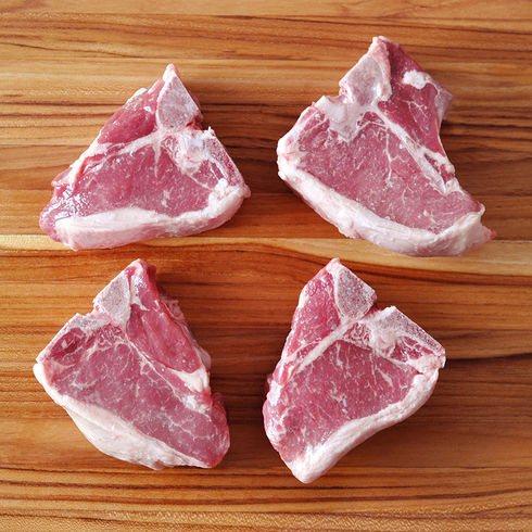 Colorado Lamb Porterhouse Chop, 8 oz / 4 per pack / $20/lb