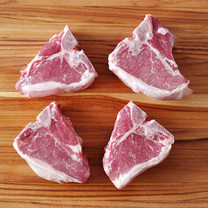 Colorado Lamb Porterhouse Chop, 8 oz / 4 per pack