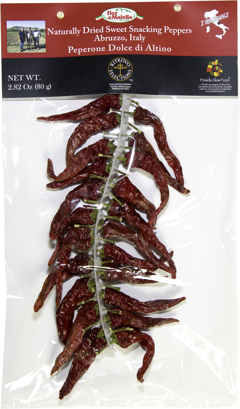 Dried Sweet Snacking Peppers