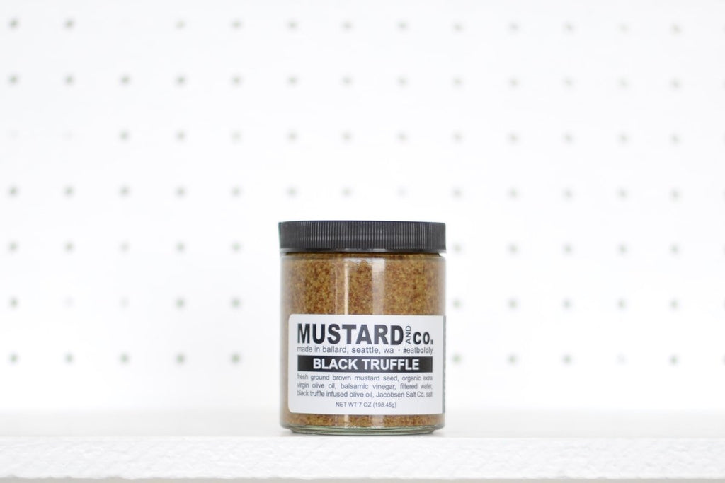 Black Truffle Mustard - Mustard and Co.