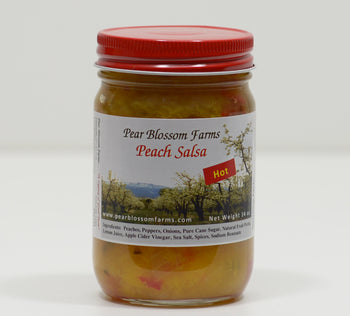 Peach Salsa Hot - Pear Blossom Farms