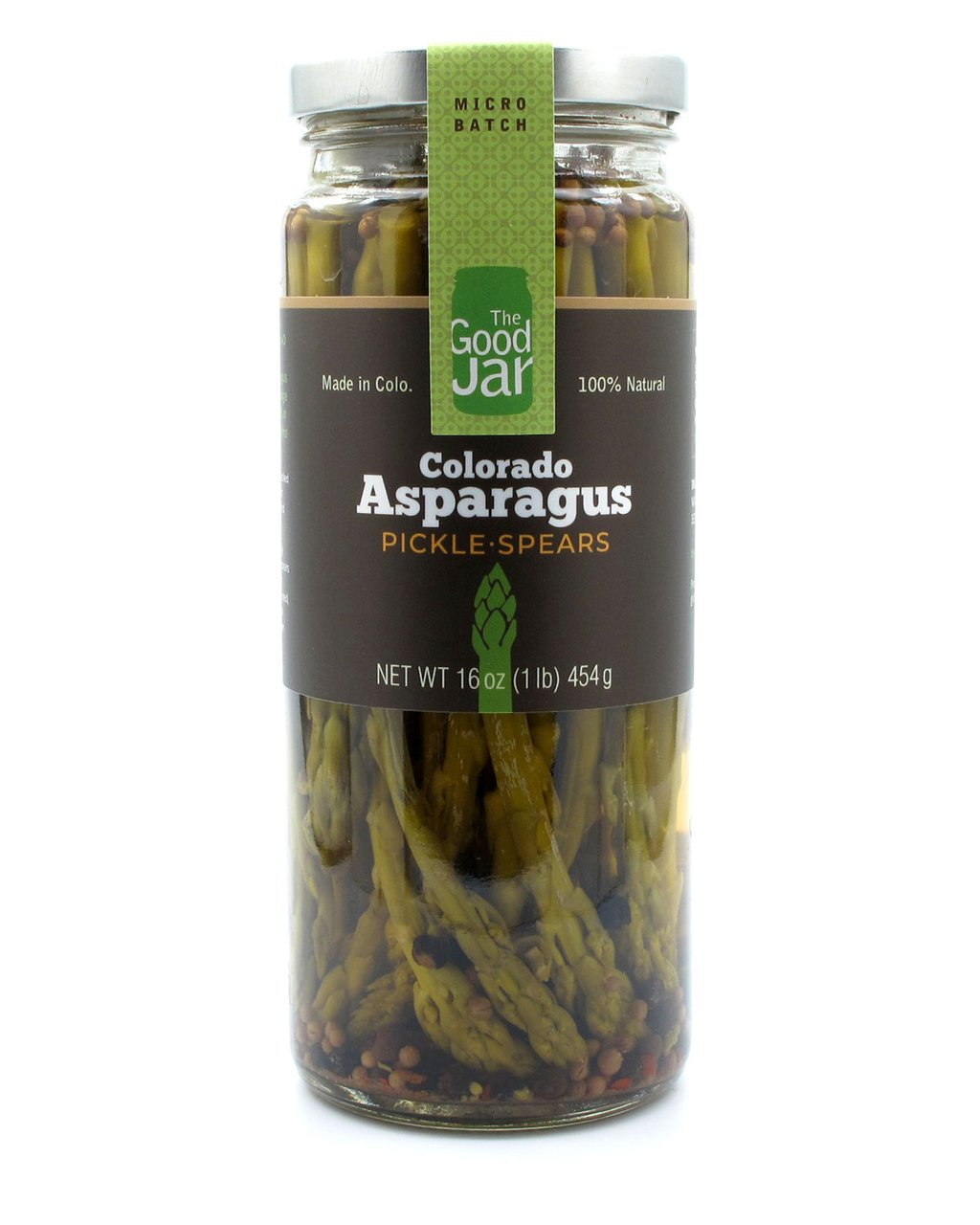 The Good Jar Asparagus Pickle Spears