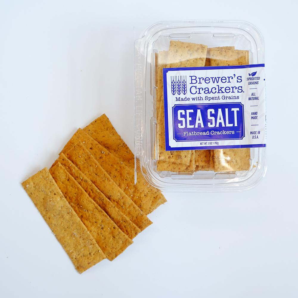 Brewer's Cracker's Sea Salt Flatbread