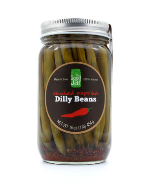 The Good Jar Disappearing Dilly Beans with Smoked Paprika