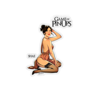 Shae, Game of Thrones Pin-Up, Kiss-Cut Stickers
