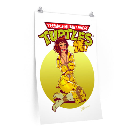 April O'Neil, Premium Matte vertical posters