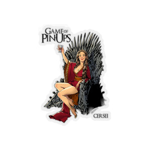 Cersei, Game of Thrones Pin-Up, Kiss-Cut Stickers