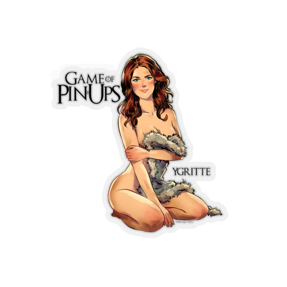 Ygritte, Game of Thrones Pin-Up, Kiss-Cut Stickers