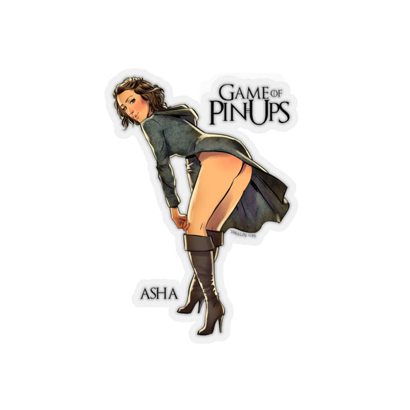Asha, Game of Thrones Pin-Up, Kiss-Cut Stickers