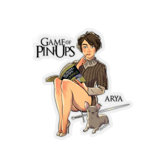 Arya, Game of Thrones Pin-Up, Kiss-Cut Stickers