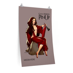 Melisandre, Game of Thrones Pin-Up, Premium Matte vertical posters