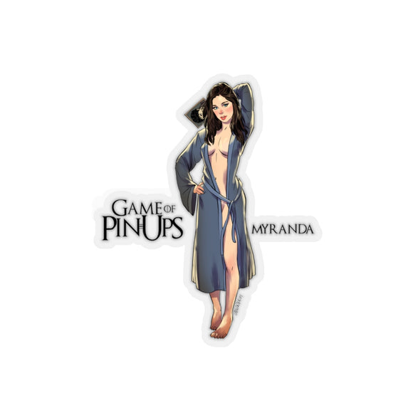 Myranda, Game of Thrones Pin-Up, Kiss-Cut Stickers