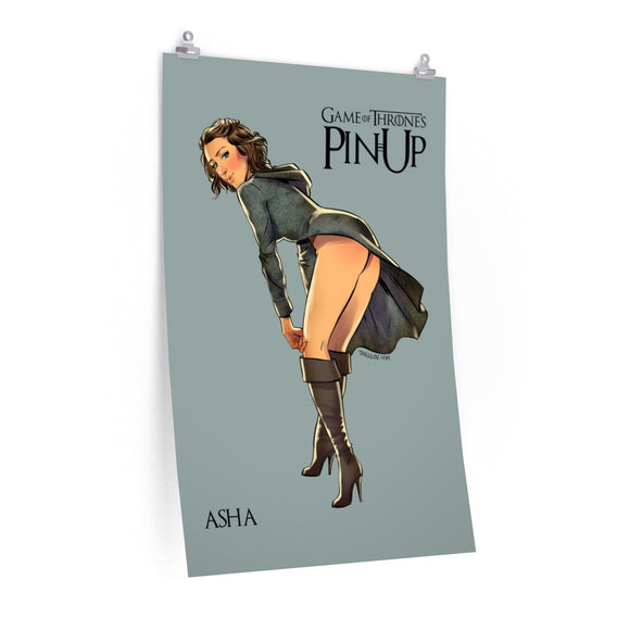 Asha, Game of Thrones Pin-Up, Premium Matte vertical posters