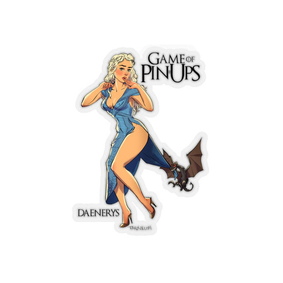 Daenerys 1, Game of Thrones Pin-Up, Kiss-Cut Stickers