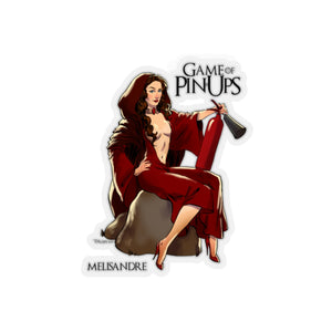 Melisandre, Game of Thrones Pin-Up, Kiss-Cut Stickers