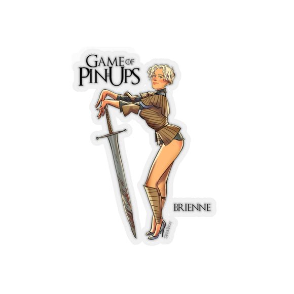 Brienne, Game of Thrones Pin-Up, Kiss-Cut Stickers