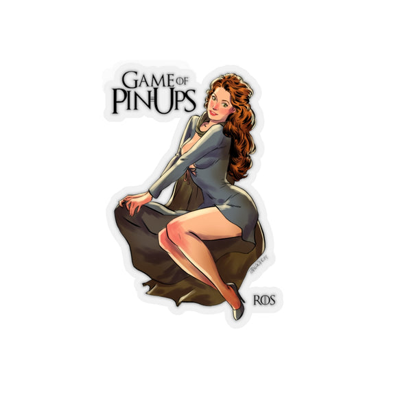 Ros, Game of Thrones Pin-Up, Kiss-Cut Stickers