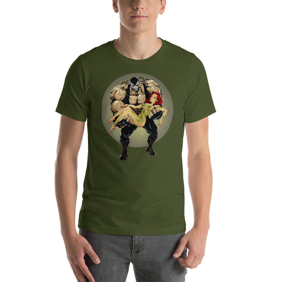 Poison Ivy, Superheroes, Short-Sleeve Unisex T-Shirt
