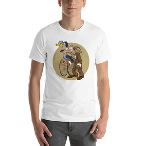 Road Runner & Willie Coyote, Cartoons Got Old, Short-Sleeve Unisex T-Shirt