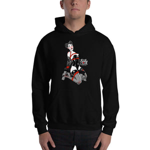 4 of clubs, Kinky Cards, Hooded Sweatshirt